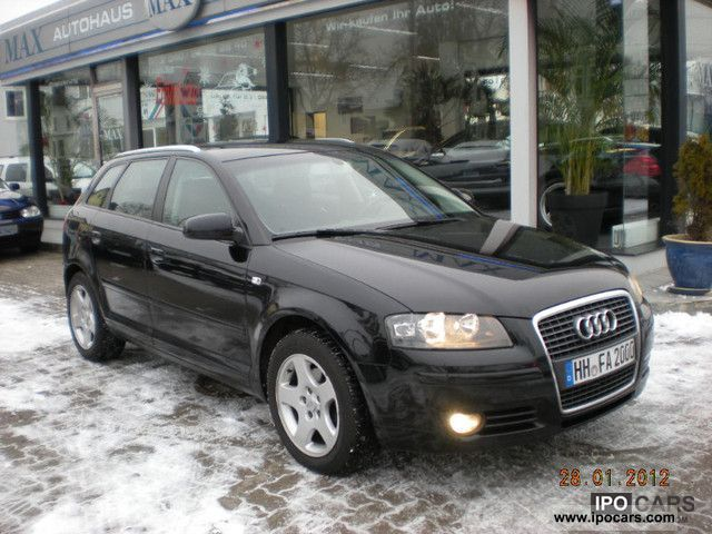 2004 audi a3 sportback 2 0 tdi ambiente car photo and specs. Black Bedroom Furniture Sets. Home Design Ideas
