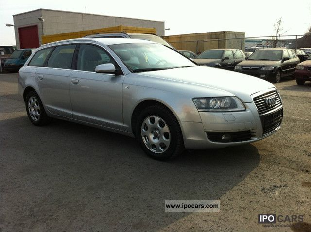 2006 audi a6 avant 2 7 tdi car photo and specs. Black Bedroom Furniture Sets. Home Design Ideas