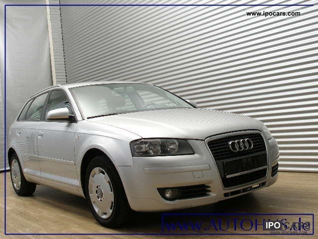 2007 audi a3 sportback 1 9 tdi klimaaut cruise car photo and specs. Black Bedroom Furniture Sets. Home Design Ideas