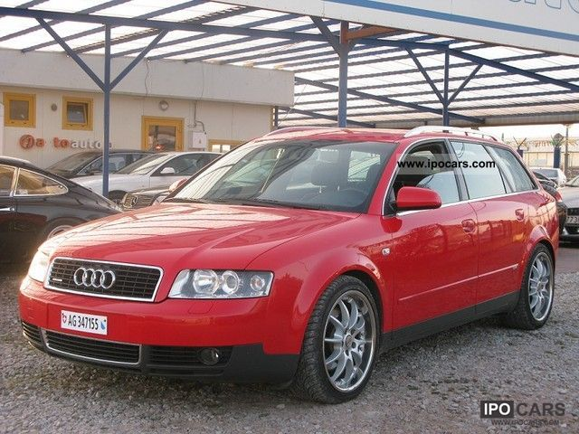 2003 Audi  A4 AUDI A4 S - Z LINE 2.5 TDI UDOKUMENTOWANĄ HIS Estate Car Used vehicle photo