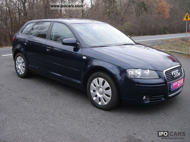 2005 audi a3 sportback car photo and specs. Black Bedroom Furniture Sets. Home Design Ideas