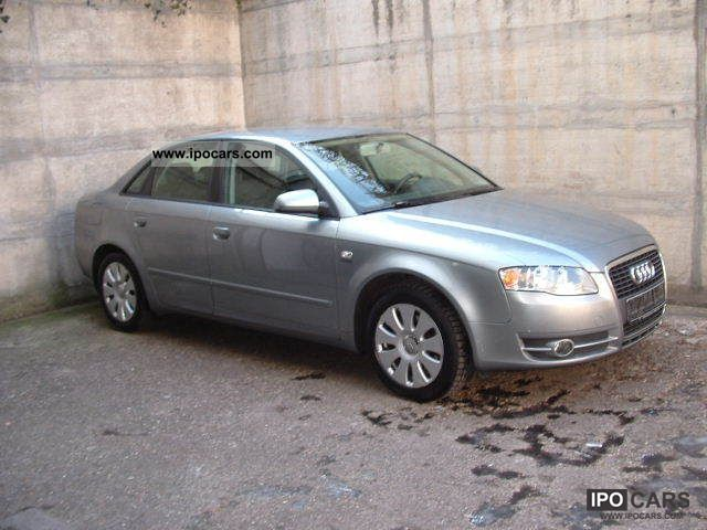 2007 Audi  A4 2.0 TDI multitronic * 1.HAND * AHK * EURO4 * Limousine Used vehicle photo