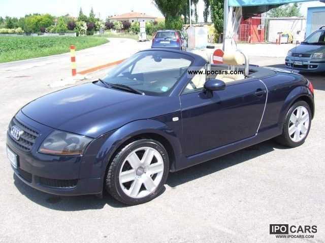 2004 Audi  TT Roadster 1.8 T CV 20V/179 cat Cabrio / roadster Used vehicle photo