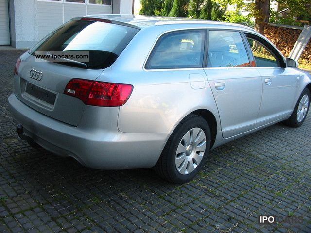 2005 Audi A6 Avant 20 Tdi Dpf Heater Xenon Mod 2006 Car Photo And