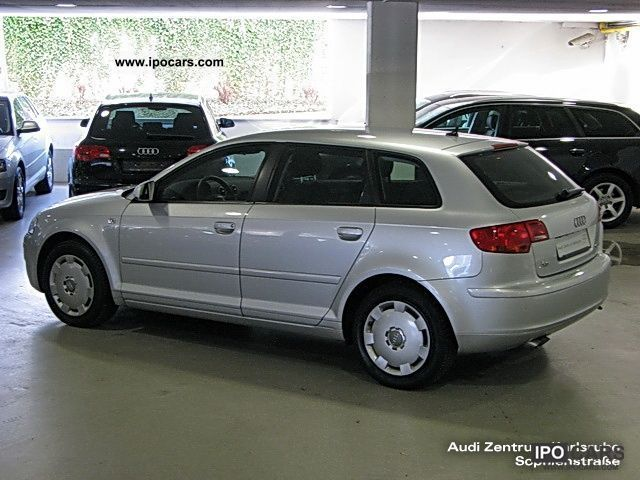 2007 audi a3 sportback 1 9 tdi attraction navigation air car photo and specs. Black Bedroom Furniture Sets. Home Design Ideas