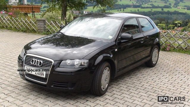 2007 Audi  A3 1,6 1.Hand * AHK * decreasing all customer services * Limousine Used vehicle photo
