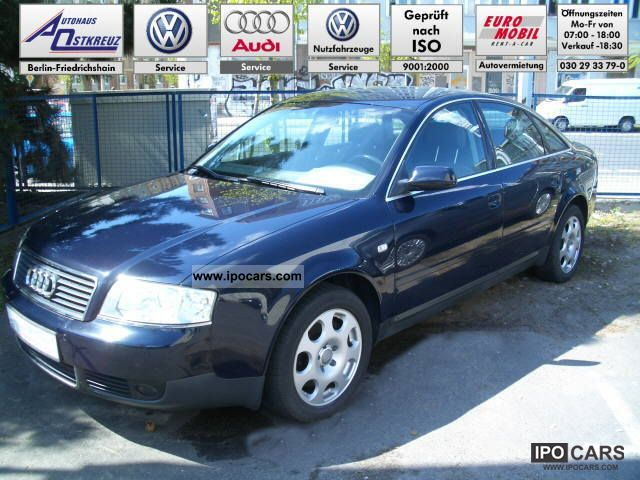 2003 Audi  A6 Saloon 2.5 TDI, 120 kW multitronic / Navi / S Limousine Used vehicle photo