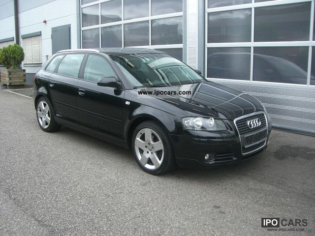 2007 audi a3 2 0 tdi sportback dpf parktronic air car. Black Bedroom Furniture Sets. Home Design Ideas