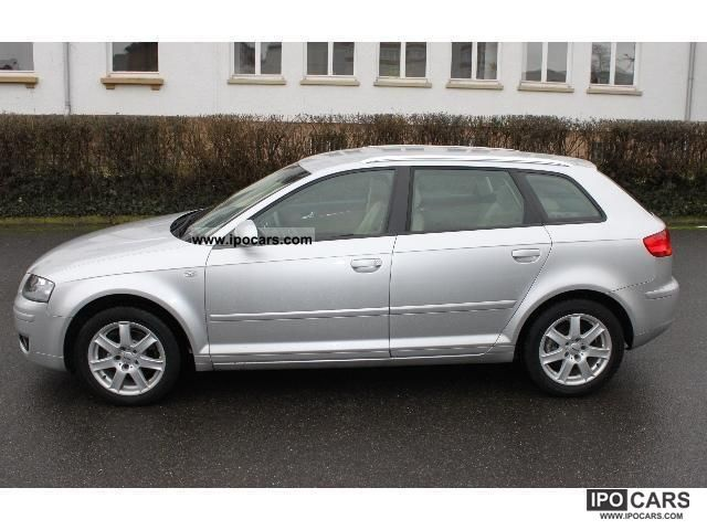 2006 audi a3 sportback 1 6 fsi ambiente car photo and specs. Black Bedroom Furniture Sets. Home Design Ideas