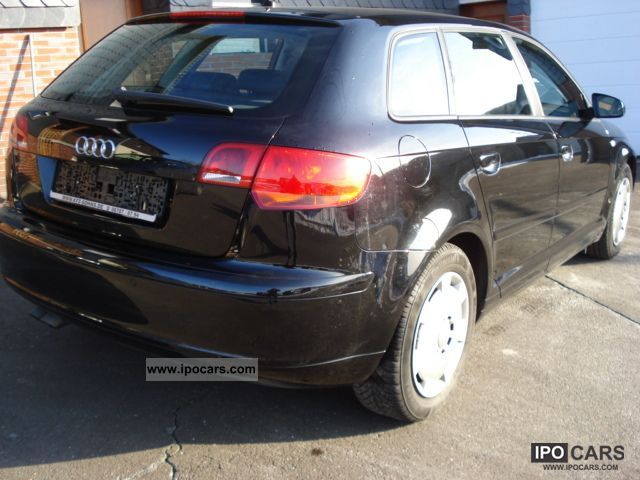 2007 Audi  1.9TDIe A3 Sportback DPF 1.Hd., KT, Navi, PDC, SH Estate Car Used vehicle photo