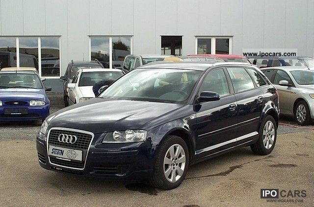 2007 Audi  A3 Sportback 1.9 TDI DPF environment 1.HAND Estate Car Used vehicle photo