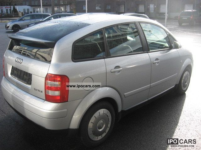 2002 audi a2 1 2 tdi climate aluminum car photo and specs. Black Bedroom Furniture Sets. Home Design Ideas