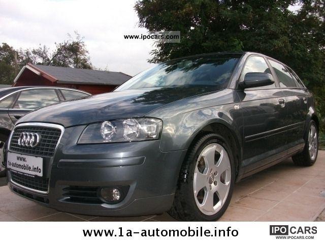 2005 Audi  A3 2.0 TDI Sportback Auto climate control + Estate Car Used vehicle photo