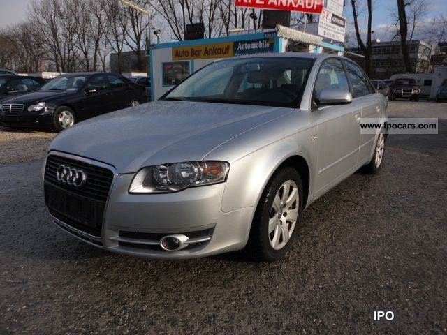 2006 Audi  A4 1.6 ~ ~ 1 a condition Accident free ~ ~ Saloon Limousine Used vehicle photo