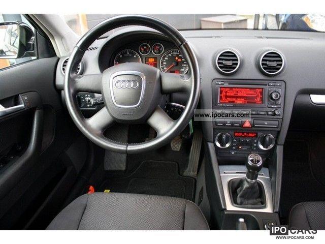 2008 audi a3 sportback 1 9 tdi proline navigation car photo and specs. Black Bedroom Furniture Sets. Home Design Ideas