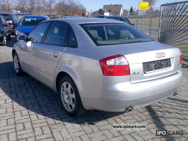 2004 Audi A4 24 V6 Automatic Climate Control Heated Seats Full