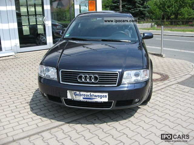 2002 Audi  A6 Saloon 2.4 V6 125 KW Limousine Used vehicle photo