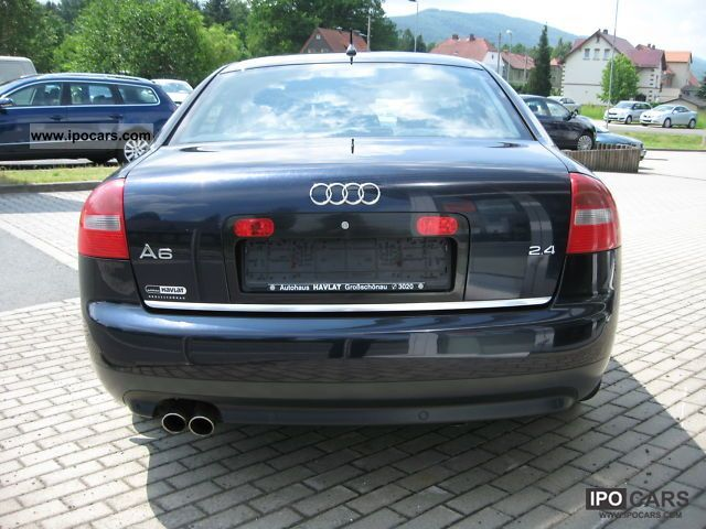 2002 audi a6 saloon 2 4 v6 125 kw car photo and specs. Black Bedroom Furniture Sets. Home Design Ideas