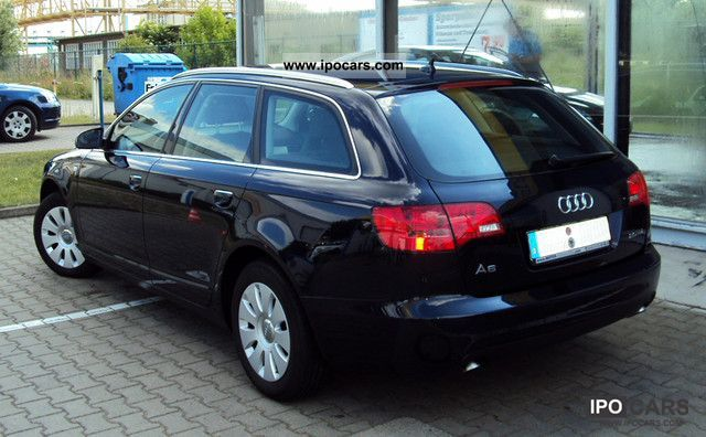 2006 audi a6 avant 2 0 tdi car photo and specs. Black Bedroom Furniture Sets. Home Design Ideas