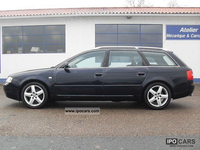 2003 Audi A6 25 V6 Tdi Breakfast Pack Plus 163 Car Photo And Specs