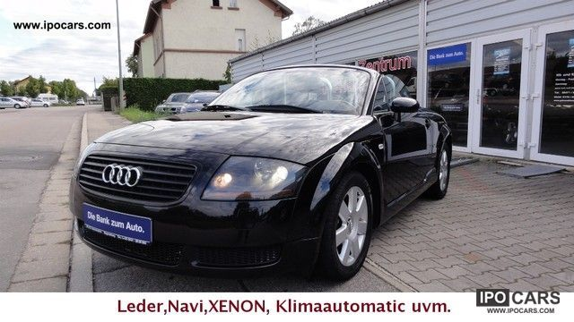 2003 Audi  TT Roadster 1.8 T Leather, Xenon, Navi Cabrio / roadster Used vehicle (business photo