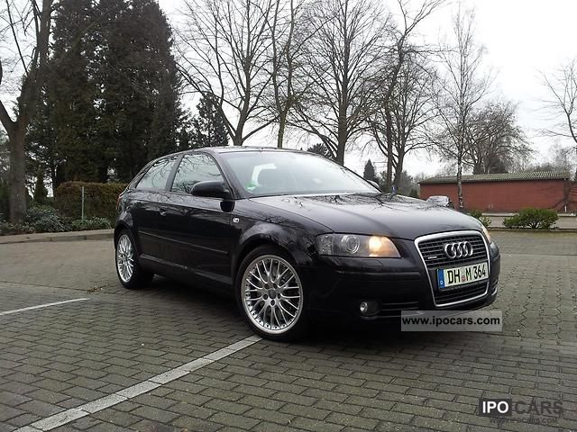 2006 Audi  A3 3.2 quattro Ambition Limousine Used vehicle photo