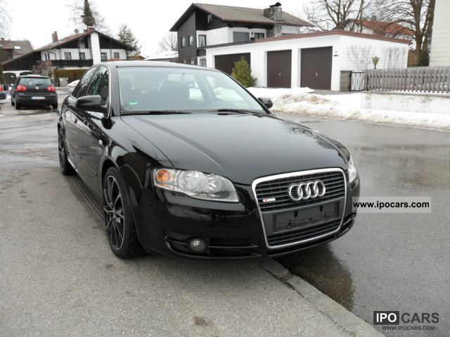 2005 audi a4 2 5 tdi s line car photo and specs. Black Bedroom Furniture Sets. Home Design Ideas