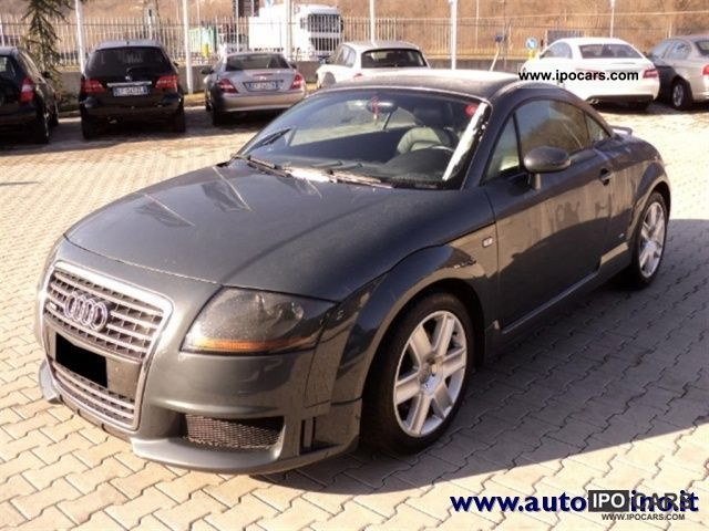 2005 Audi  TT Coupe 1.8 T cat 20V/190 CV Sports car/Coupe Used vehicle photo