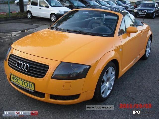 2004 Audi Tt Okazja Tiptronic Car Photo And Specs