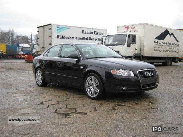 2006 audi a4 3 2 fsi quattro tiptronic car photo and specs. Black Bedroom Furniture Sets. Home Design Ideas