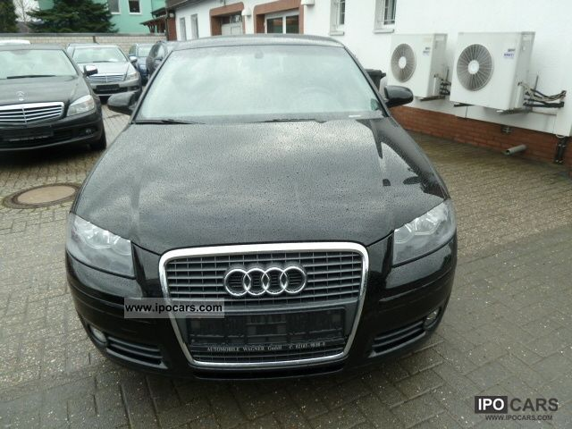 2007 Audi  A3 Sportback 1.9 TDI DPF environment NAVI Estate Car Used vehicle photo