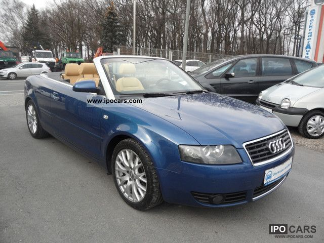 2005 Audi  A4 Cabriolet 2.5 TDI LEATHER * PDC * 18inch Aluf. * ​​TOP Cabrio / roadster Used vehicle photo