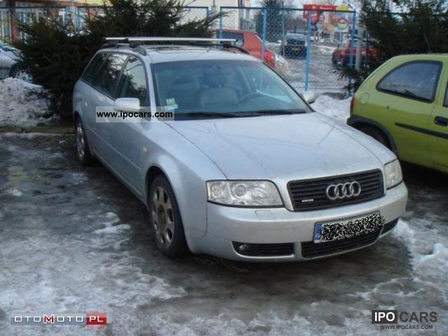Audi  A6 QUATRO 3.0 SEKWENCYJNA instala 2004 Liquefied Petroleum Gas Cars (LPG, GPL, propane) photo