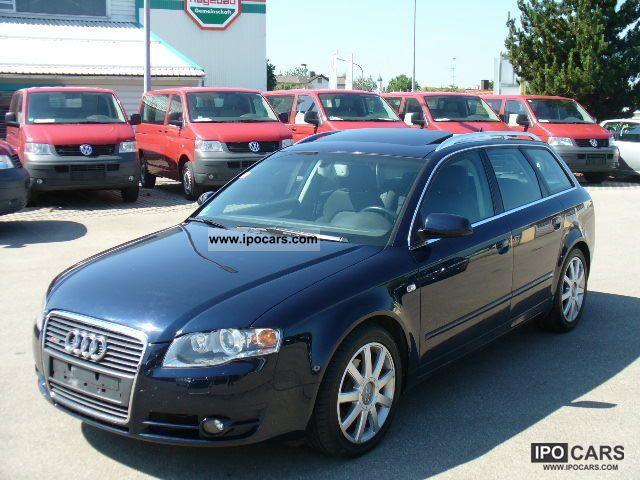 2006 Audi  A4 Av. 2.0 TDI S-Line Multitr. / Xenon / SSD / APC Estate Car Used vehicle photo