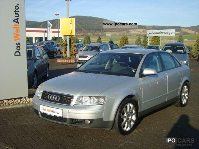 2003 Audi  A4 Saloon 1.8 T Limousine Used vehicle photo