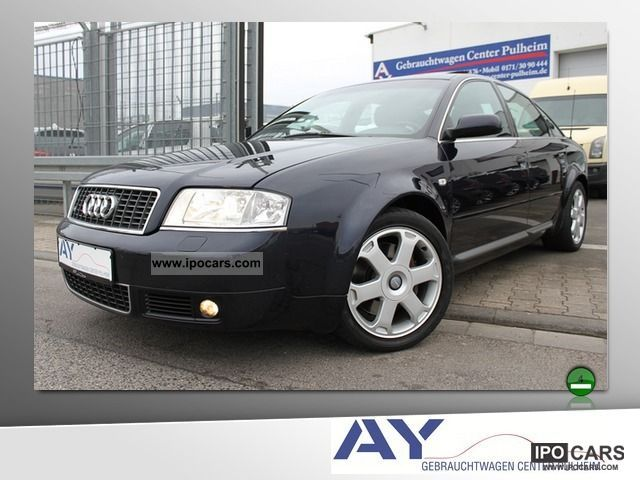 2000 Audi  S6 4.2 quattro tiptronic glass roof Navi Xenon 17 * Limousine Used vehicle photo