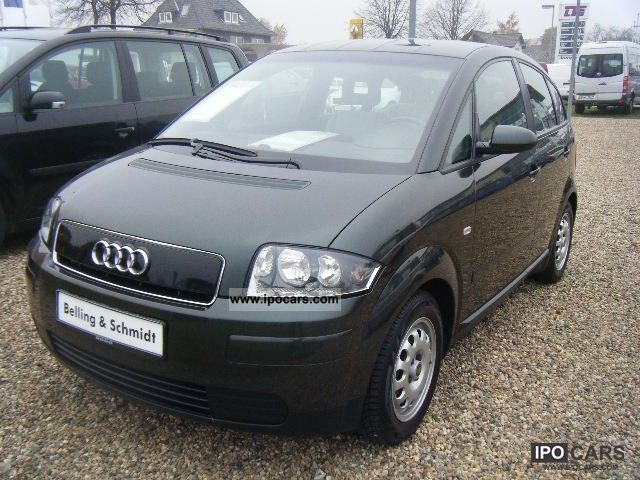 2002 Audi  A2 1.2 TDI Automatic 3-liter car navigation Van / Minibus Used vehicle photo