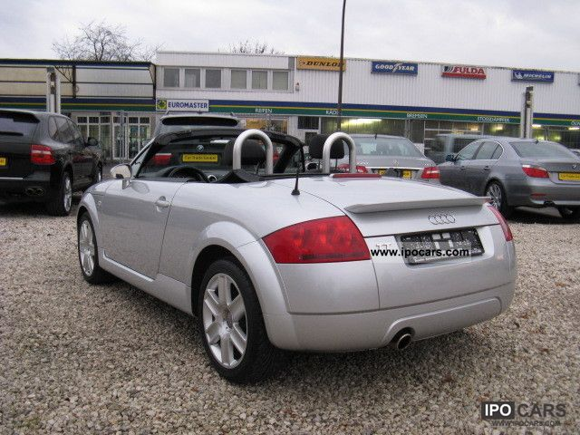 2004 audi as new tt roadster 1 8 t car photo and specs. Black Bedroom Furniture Sets. Home Design Ideas