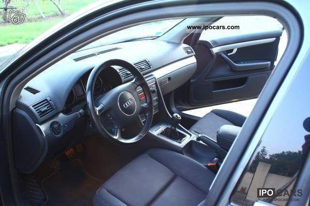 2004 audi a4 break tres bon etat car photo and specs for Audi a4 break interieur