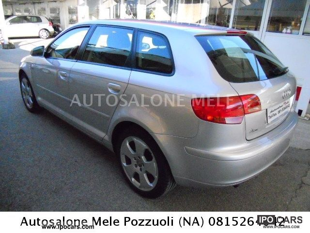2005 audi a3 sportback 2 0 tdi ambition 2005 car photo and specs. Black Bedroom Furniture Sets. Home Design Ideas