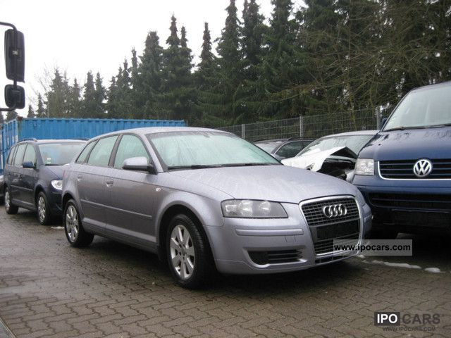 2005 Audi  A3 1.6 Sportback tiptronic + + Climatronic PDC Estate Car Used vehicle photo