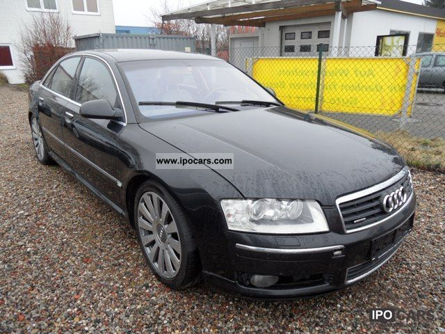 2003 Audi  A8 4.0 TDI quattro Xenon Navi / TV Rocker Limousine Used vehicle 			(business photo