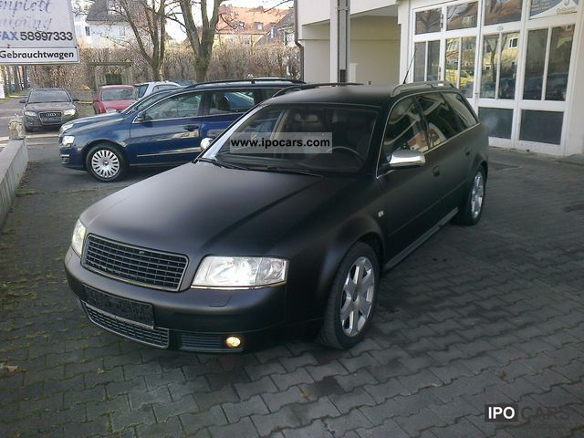 Audi  S6 Avant 4.2 quattro + +1. Hd / LPG / Vollausst. + + 2003 Liquefied Petroleum Gas Cars (LPG, GPL, propane) photo