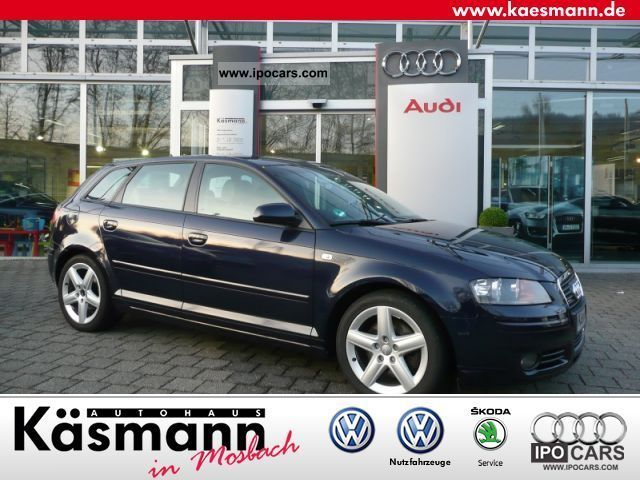 2005 audi a3 sportback 2 0 tfsi quattro ambition car photo and specs. Black Bedroom Furniture Sets. Home Design Ideas