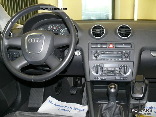 2005 audi a3 sportback 1 9 tdi car photo and specs. Black Bedroom Furniture Sets. Home Design Ideas