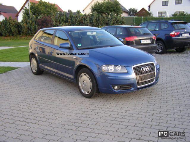 2007 Audi  A3 2.0 TDI Sportback 0.1 DPF-hand navigation Estate Car Used vehicle photo