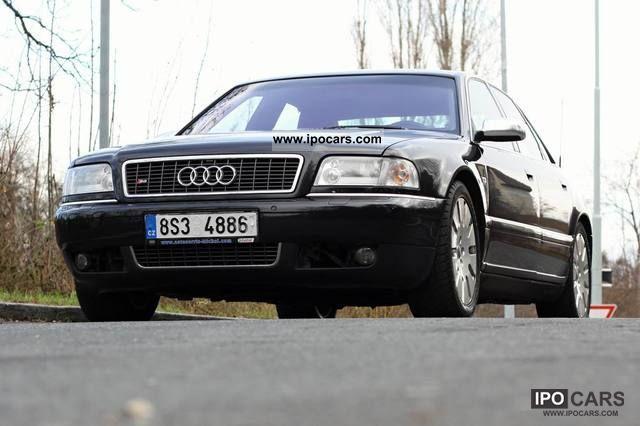 2002 Audi  S8 4.2 quattro FULL FEATURED webasto, alcantara Limousine Used vehicle photo