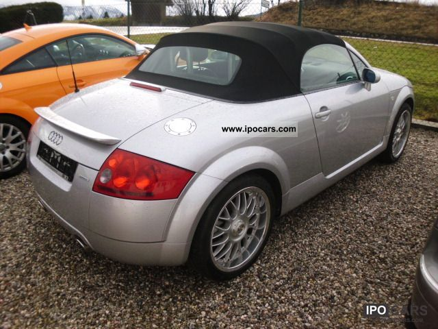 2002 Audi Tt Quattro Convertible Leather Car Photo And Specs