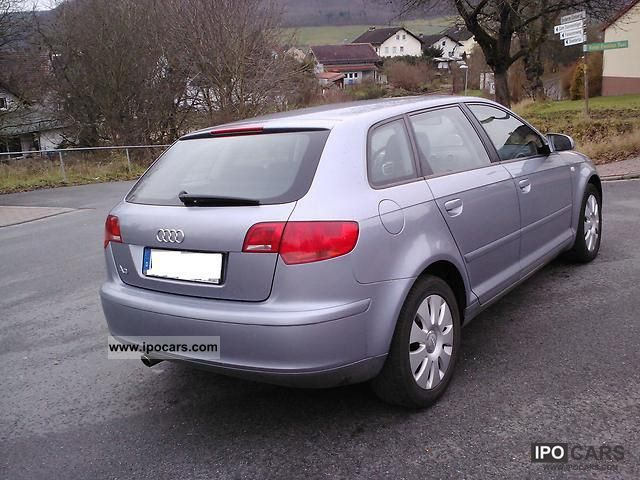 2005 audi a3 8p sportback 1 6fsi 6gang climate control 5t car photo and specs. Black Bedroom Furniture Sets. Home Design Ideas