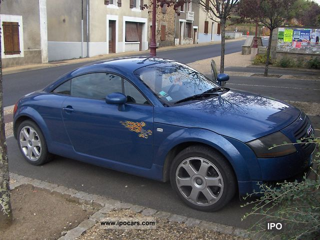 1999 audi audi tt 180ch car photo and specs. Black Bedroom Furniture Sets. Home Design Ideas